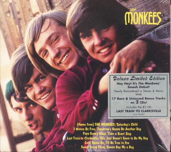 The Monkees - Deluxe Edition (2-CD, Ltd.)