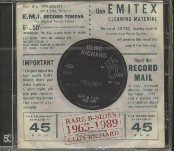 Rare B-sides 1963-1989 (CD)