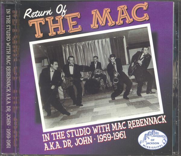 Return Of The Mac - In The Studio With Mac Rebennack a.k.a. Dr. John (CD)