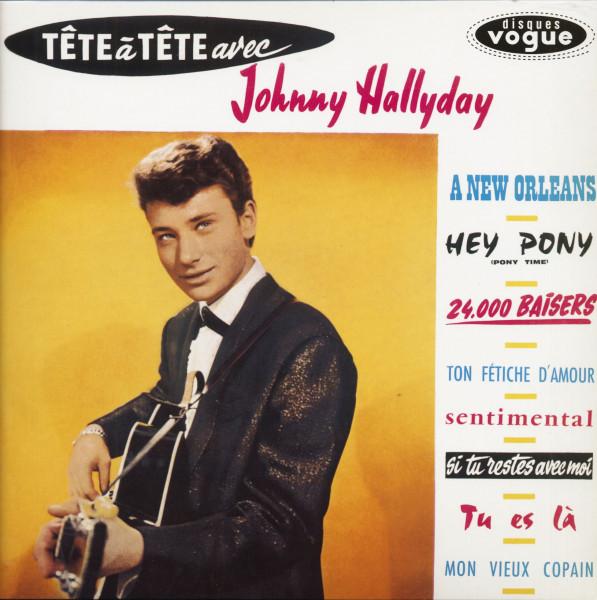 Tète A Tète Avec Johnny Hallyday (LP)