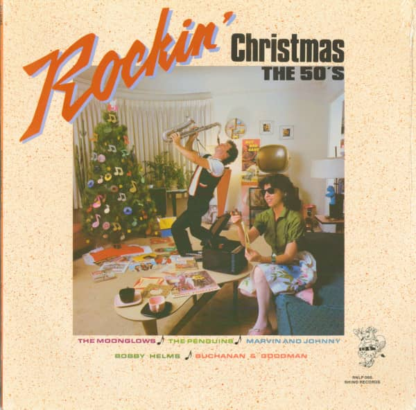 Rockin Christmas - The 50's (LP)