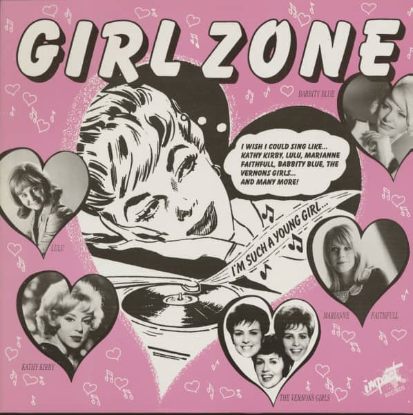 Girl Zone - U.K. (LP)