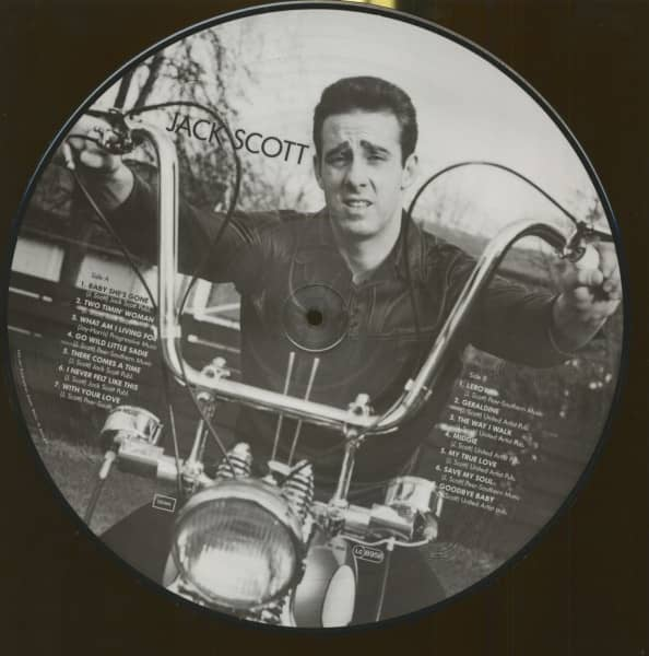 Jack Scott - Picture Disc (LP)