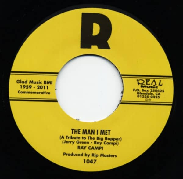 The Man I Met - Ballad Of Donna And Peggy Sue (7inch, 45rpm)