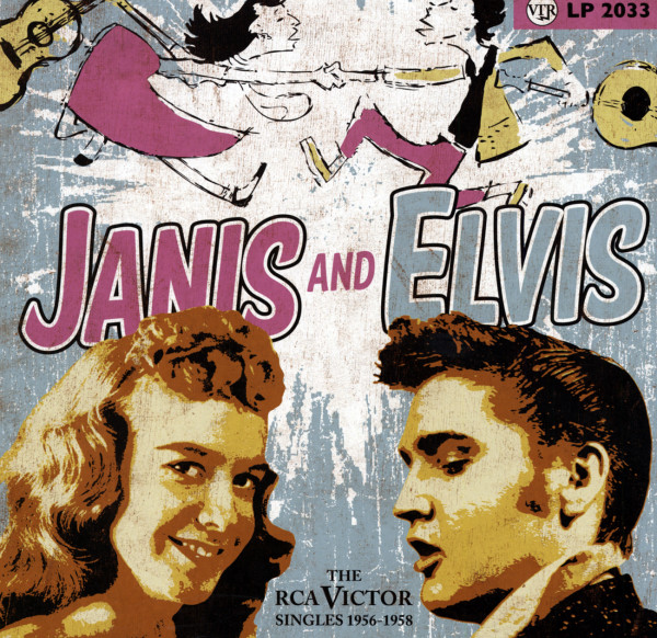 Janis & Elvis - The RCA Victor Singles 1956-58 (25cm LP)
