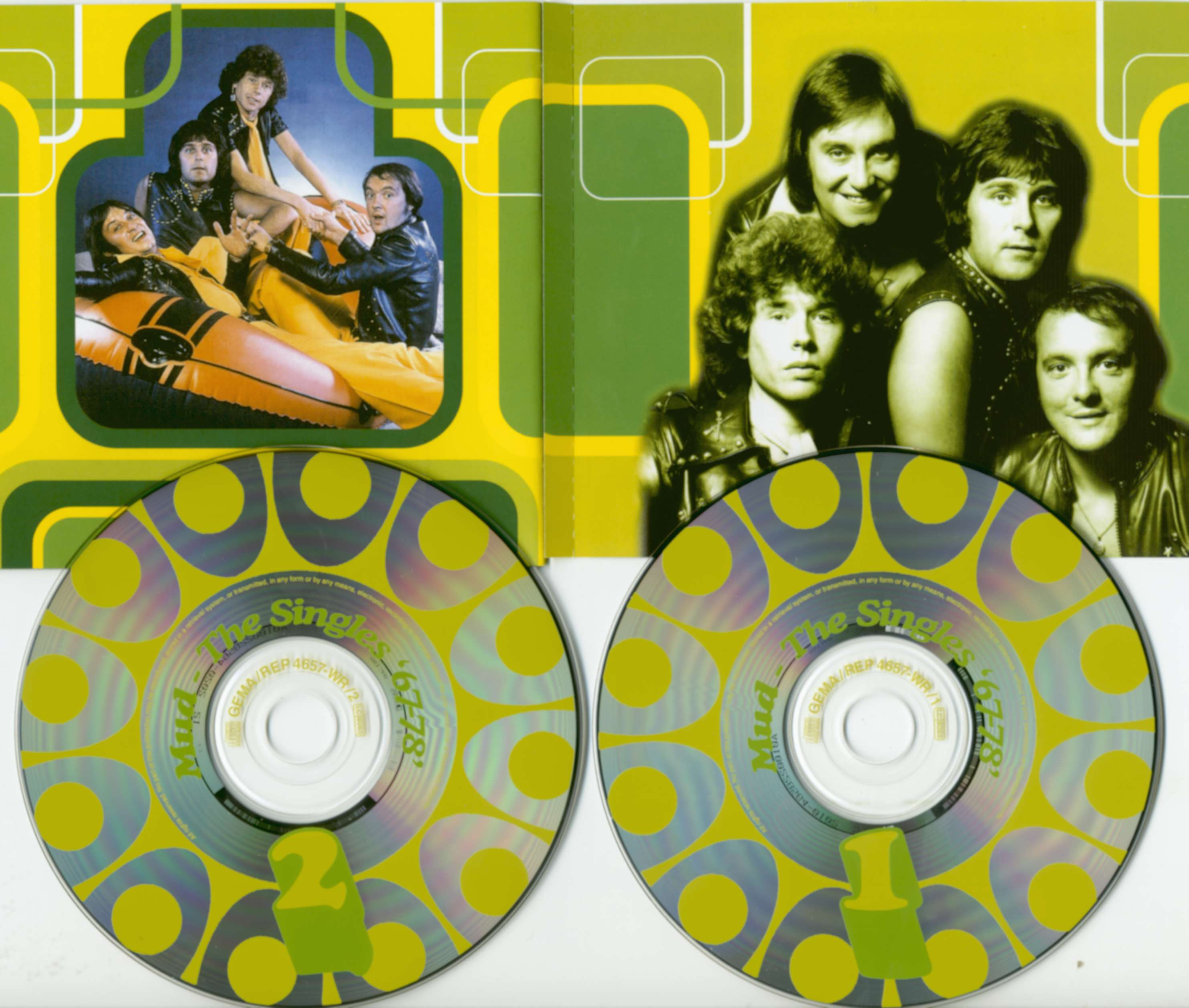 Mud Cd The Singles 1967 1978 2 Cd Bear Family Records
