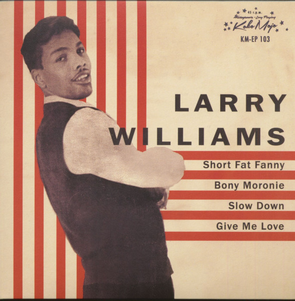 Larry Williams (7inch, EP, 45rpm, PS)