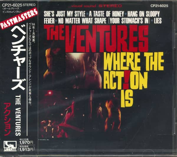 Where The Action Is (CD, Japan)