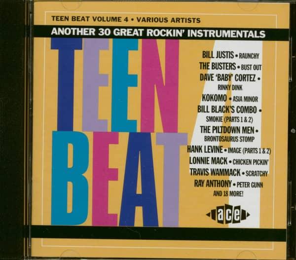 Teen Beat Vol.4 (CD)