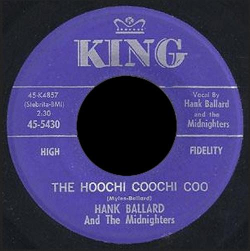 The Hoochi Coochi Coo - The Coffee Grind 7inch, 45rpm