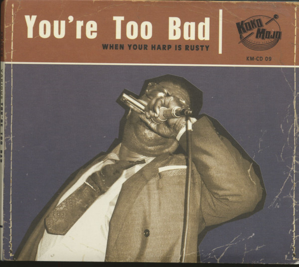 You're Too Bad (CD)
