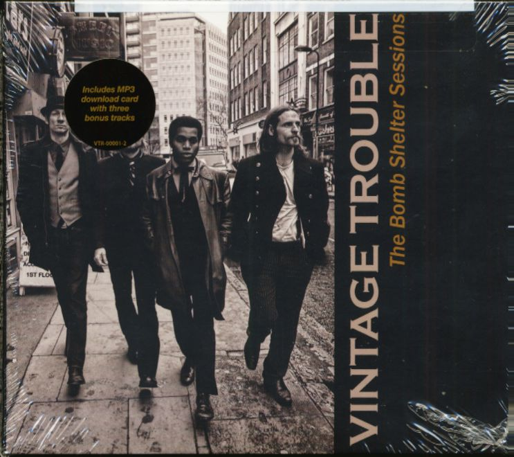 Vintage Trouble Cd The Bomb Shelter Sessions Cd Bear