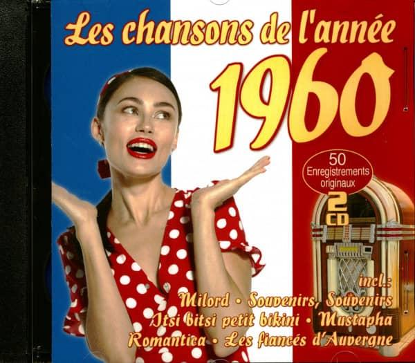 Les Chansons De L'Année 1960 (2-CD)
