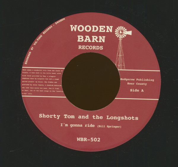 I'm Gonna Ride - The World Would Be A Better Place If It Was A Farm (7inch, 45rpm)