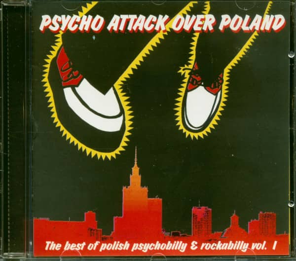 Psycho Attack Over Poland (CD)