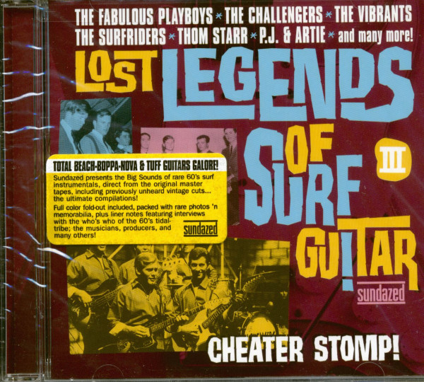 Lost Legends Of Surf Guitar Vol.3 (CD)