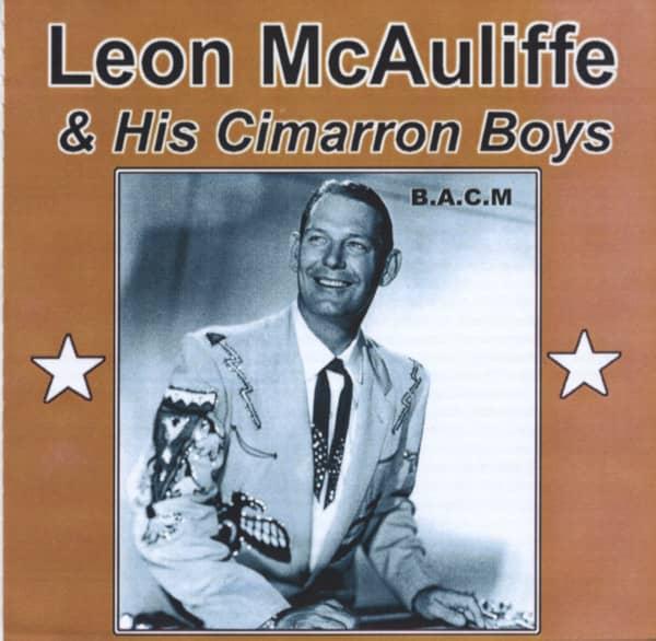 Leon McAuliffe & His Cimarron Boys (CD)