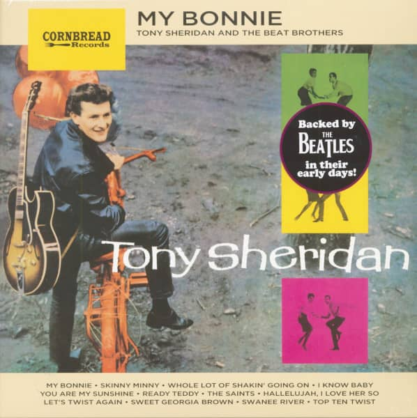 Tony Sheridan And The Beat Brothers (LP, 180g Vinyl)