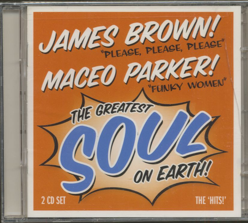 James Brown & Maceo Parker CD: The Greatest Soul On Earth! (2-CD ...