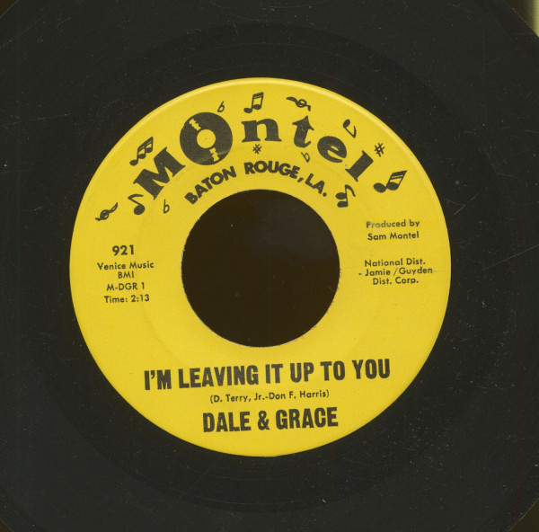 I'm Leaving It Up To You - That's What I Like (7inch, 45rpm)