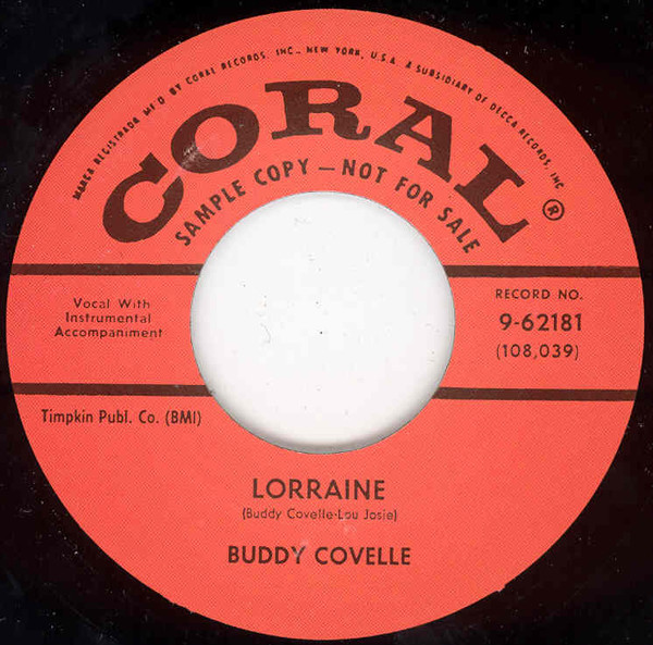 I'll Go On Loving You - Lorraine (7inch, 45rpm)