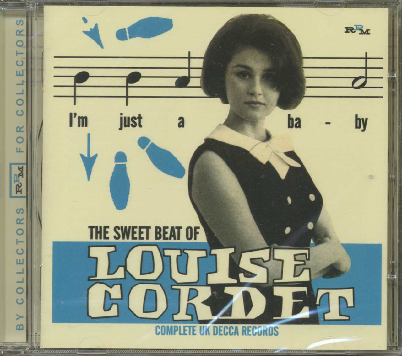 Louise Cordet - The Sweet Beat Of Complete UK Decca (CD)