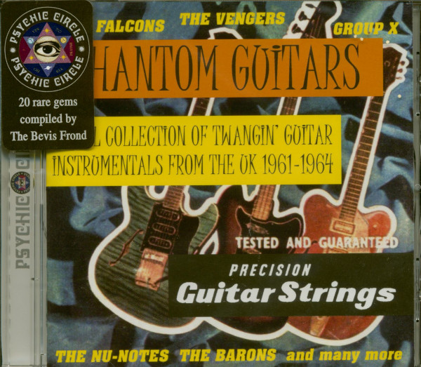 Phantom Guitars - UK Instrumentals 1961-64 (CD)