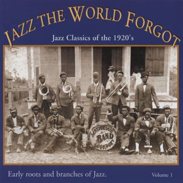Jazz The World Forgot - 1920s