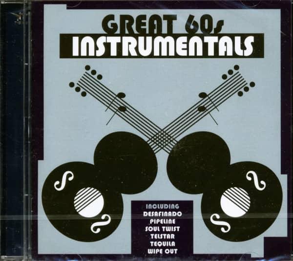 Great 60s Instrumentals (CD)