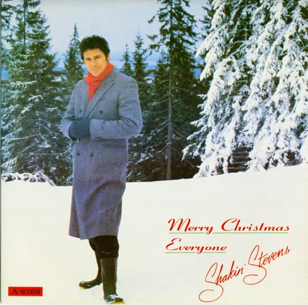 Merry Christmas Everyone - With My Heart (2nd issue, 45rpm, SC, PS)