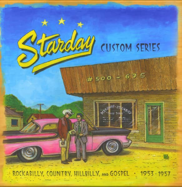 Starday Custom Series #500 - 675 (10-CD Box)