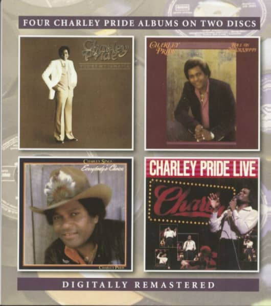 You're My Jamaica - Roll On Mississippi - Charley Sings Everybody's Choice - Charlie Pride Live (2-C