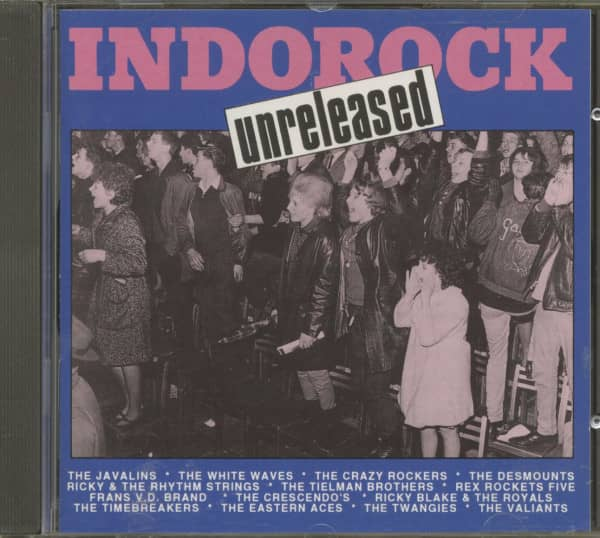Indorock Unreleased (CD)