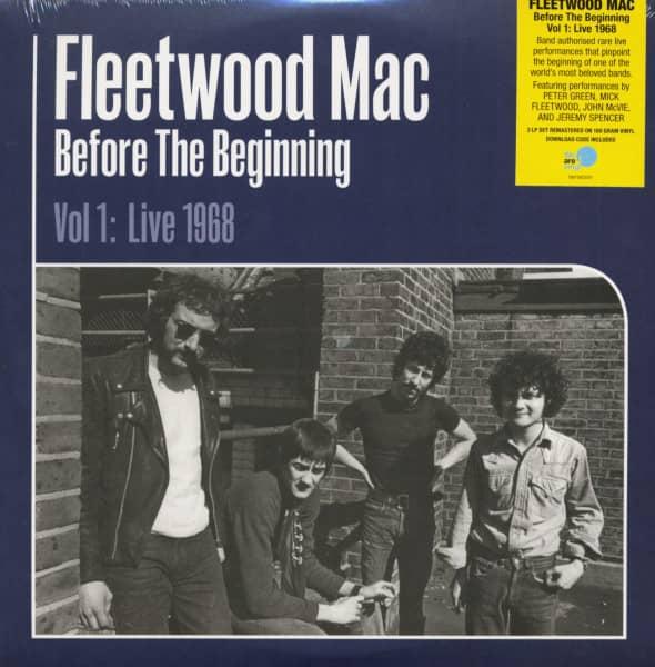 Before The Beginning - Vol 1: Live 1968 (3-LP, 180g Vinyl)