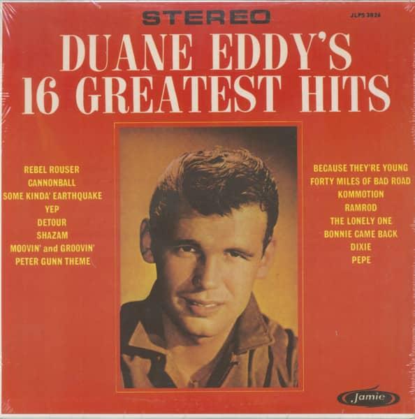 Duane Eddy's 16 Greatest Hits (LP)