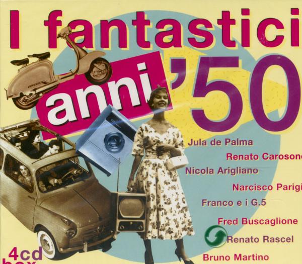 I fantastici anni '50 (4-CD)