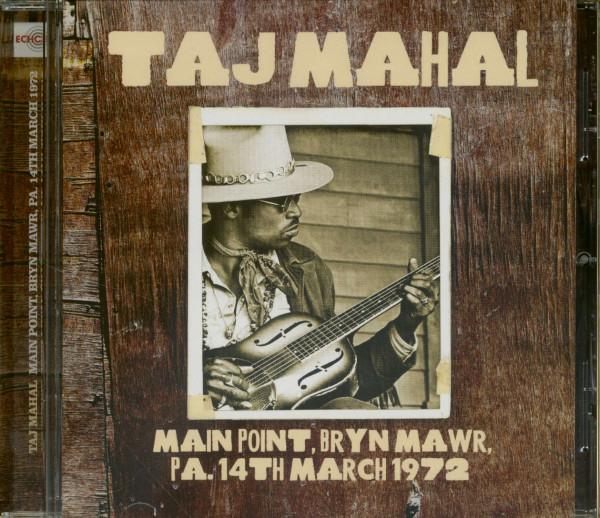 Main Point, Bryn Mawr, PA, 14th Mar 1972 (CD)
