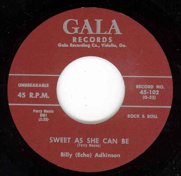 Sweet As She Can Be - Sugar Lump (7inch, 45rpm)