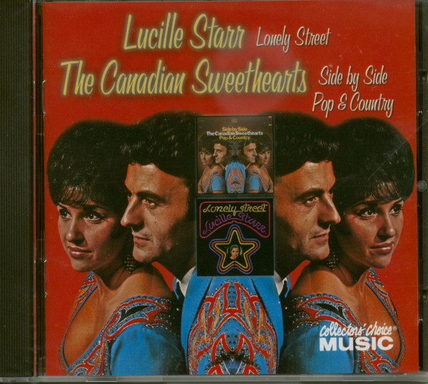 Lonely Street - Side By Side Pop & Country plus Bonus Single Sides (CD)