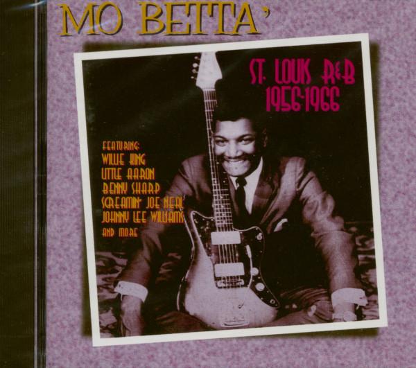 Mo Betta' - St.Louis R&B 1956-66 (CD Album)