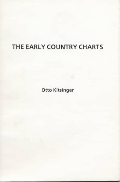 Early Country Charts
