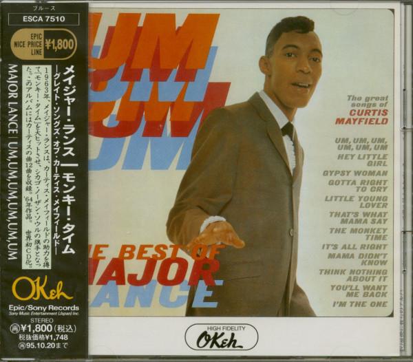 Um, Um, Um, Um, Um, Um - The Best Of Major Lance (CD, Japan)