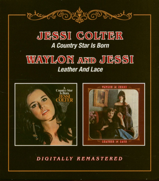 A Country Star Is Born - Leather and Lace (CD)