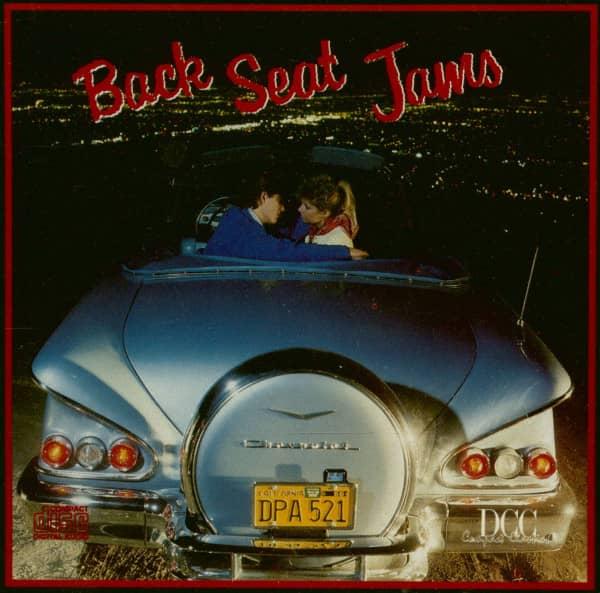 Back Seat Jams (CD)