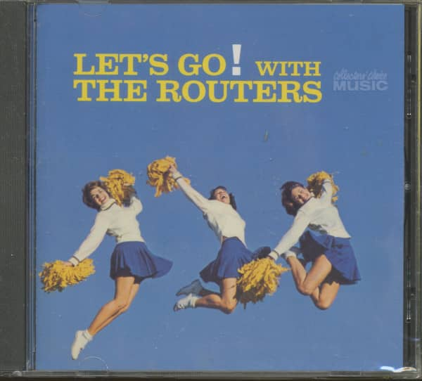 Let's Go With The Routers (CD)