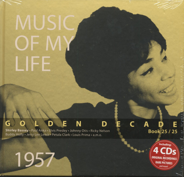 Golden Decade Vol.25 - 1957 (Book & 4-CD)