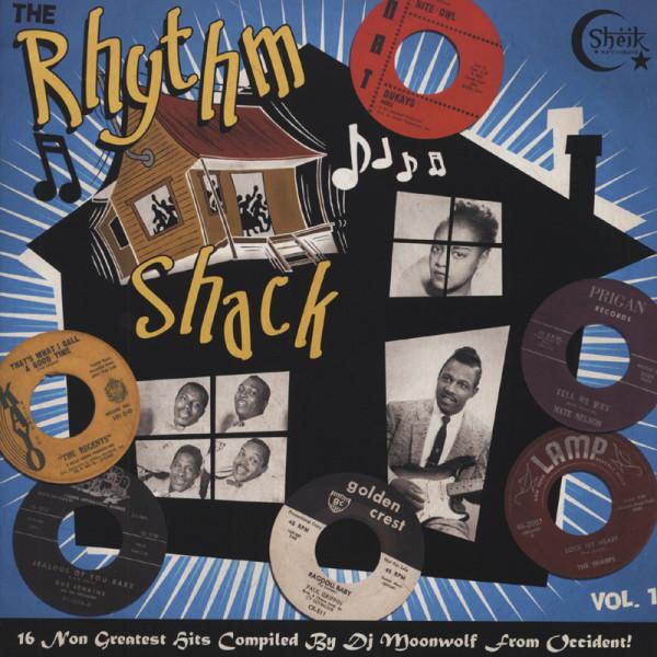 The Rhythm Shack - 16 Raw Primitive Stompers