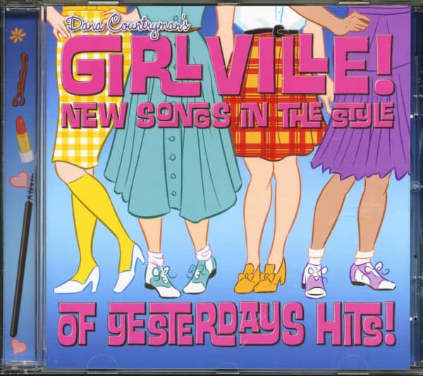 Dana Countryman's Girlville - New Songs In The Style Of Yesterdays Hits (CD)