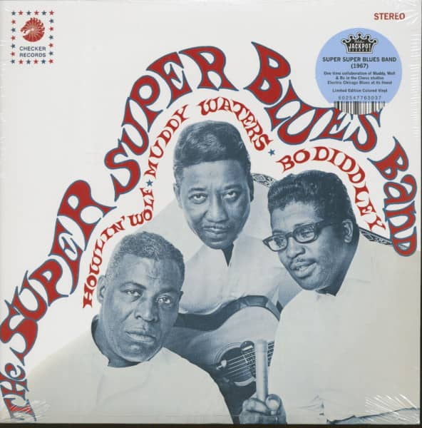 Howlin' Wolf, Muddy Waters, Bo Diddley (LP,180g Vinyl, Ltd.)