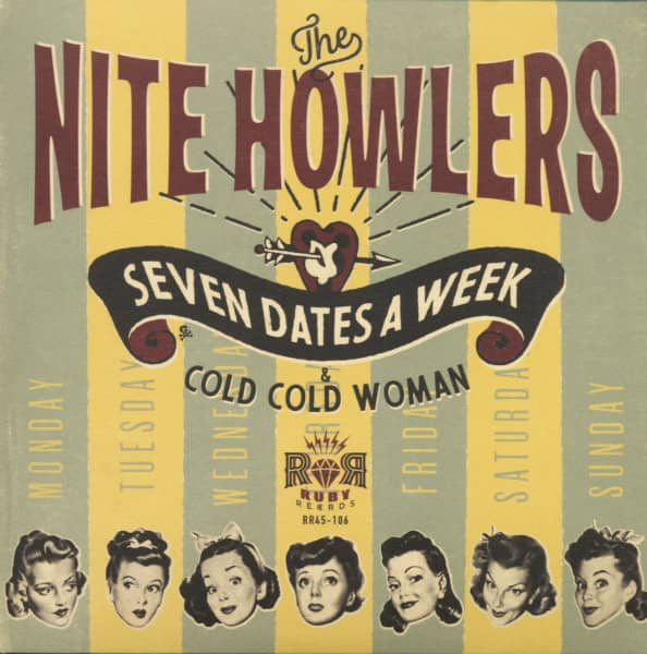 Seven Dates A Week - Cold Cold Woman (7inch, 45rpm, PS)